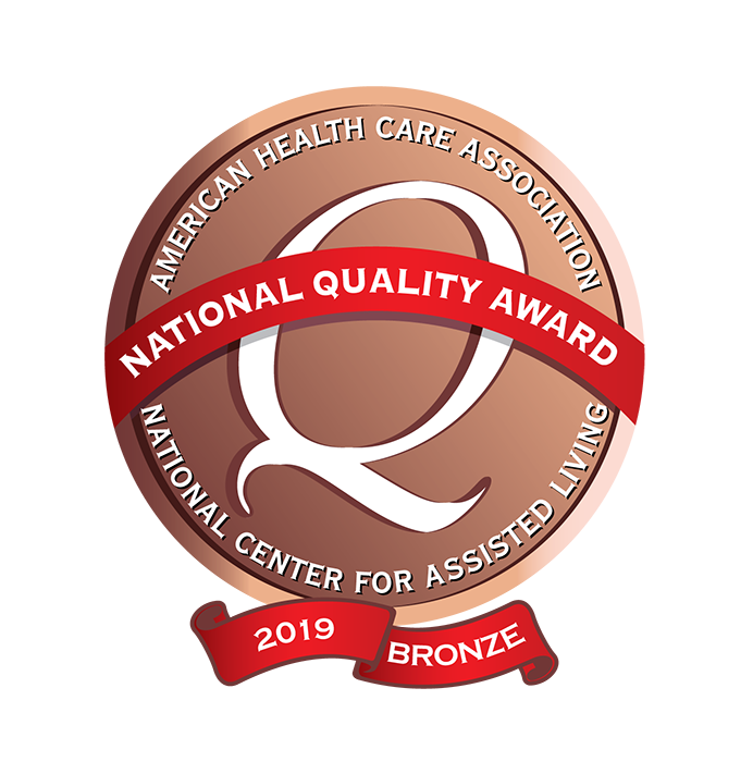 AHCA National Bronze Award for Commitment to Quality (2019)